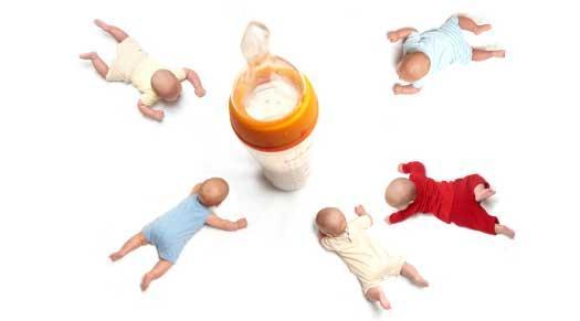 Schemat żywieniowy dla niemowląt karmionych sztucznie