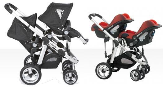 Wózek dla bliźniaków -  iCandy Pear