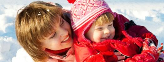 Ubieranie dziecka zimą